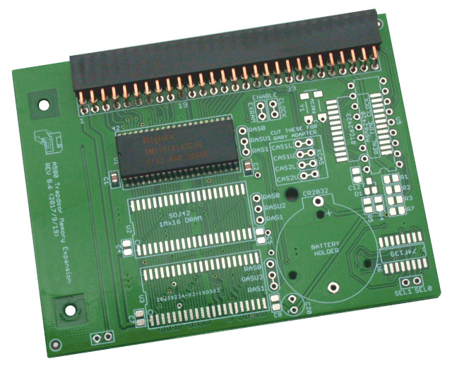 Memory Expansion 512 KB for Amiga 500