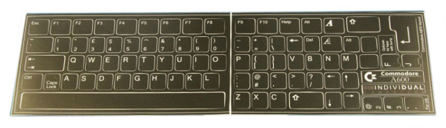 Amiga 600 Keyboard Sticker Set