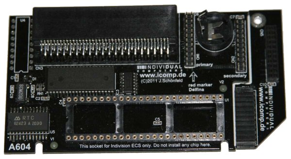 A604 Memory Expansion for Amiga 600