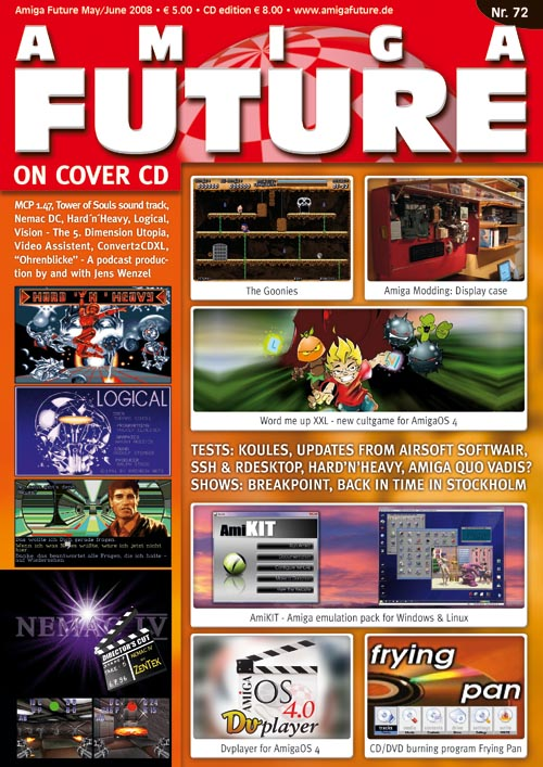 Vesalia Online - Amiga Future 72 (May/June 2008)