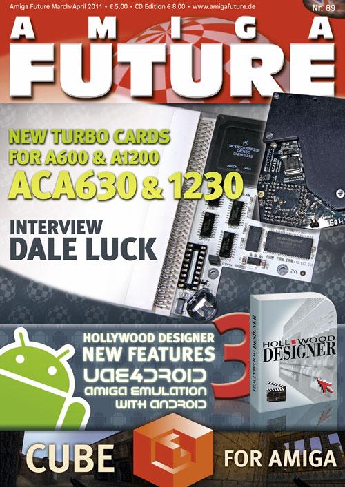 Vesalia Online - Amiga Future 89 (March/April 2011)