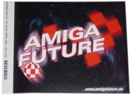 Aufkleber Amiga Future (Space)