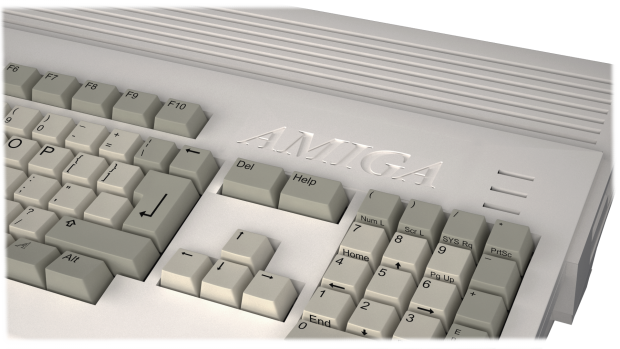 AMIGA CASE white version