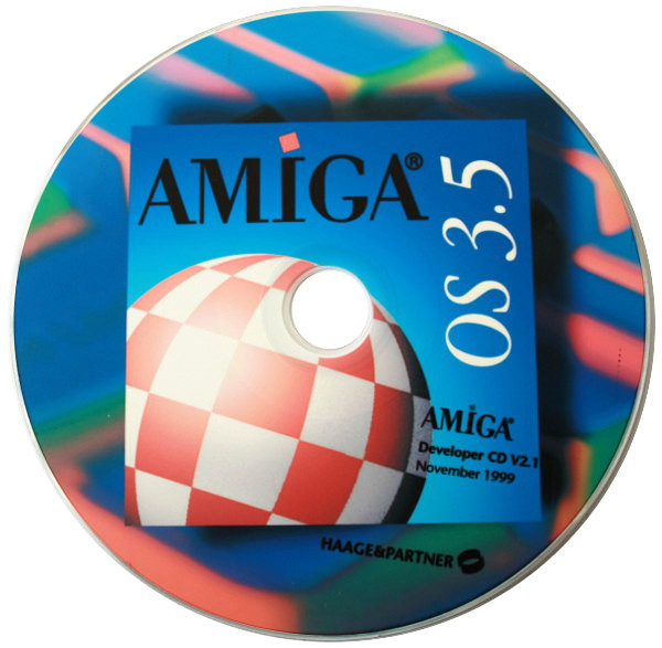 Amiga Developer CD 2.1