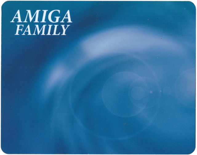 Mouse Mat Amiga Family