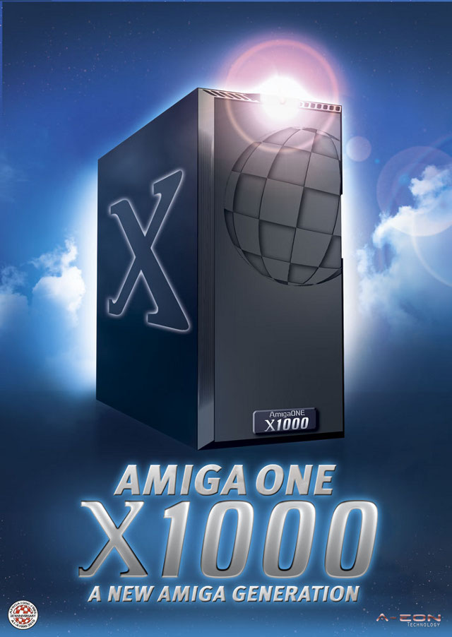 AmigaOne X1000 Poster