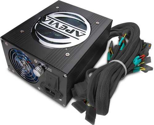 Apevia ATX-AS600W-BK