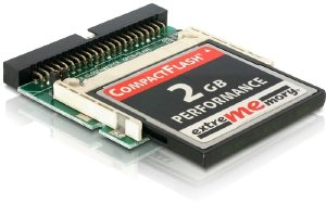 CF Adapter IDE 44-pin > CF (card not included)