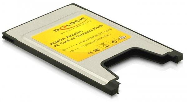 Delock Compact Flash Typ I PCMCIA Adapter