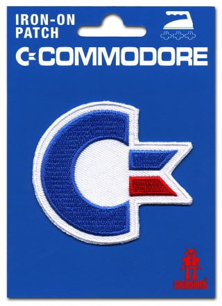 Commodore Iron-on Patch