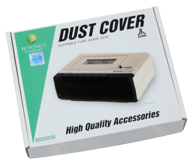 Translucent dust cover for Atari 1010