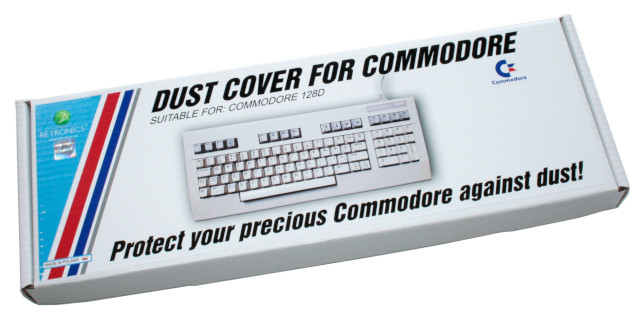 Translucent dust cover for Commodore 64