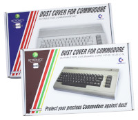 Dust cover for C64