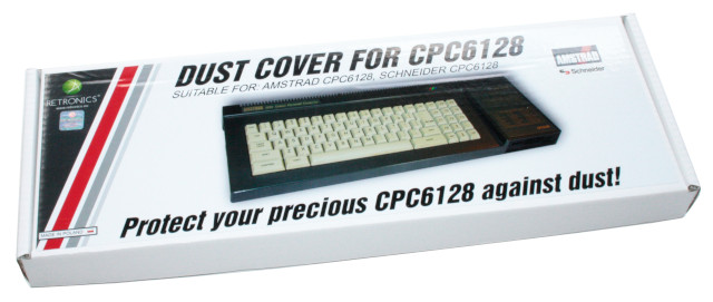 Translucent dust cover for Amstrad CPC 6128