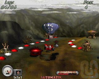Desert Racing of BarDos Screenshot