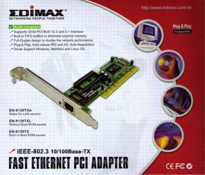 Edimax Fast Ethernet Adapter