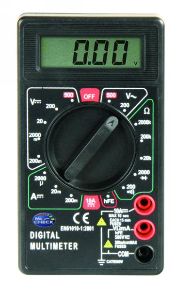 Digital-Multimeter McCheck M-330D