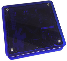 Minimig Enclosure (translucent blau)