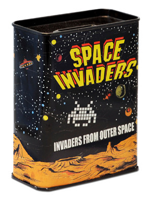 Spardose Space Invaders