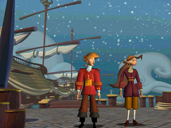 Monkey Island 4 Screenshot