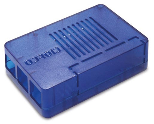 Enclosure for ODROID-C1, blue