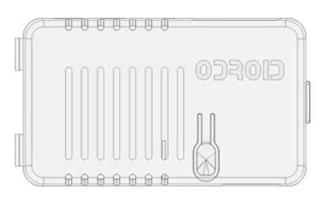 Enclosure for ODROID-U3