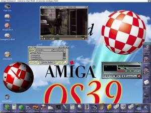 Amiga OS 3.9 Screenshot