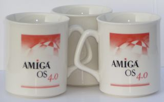 AmigaOS 4.0 Coffee Mug