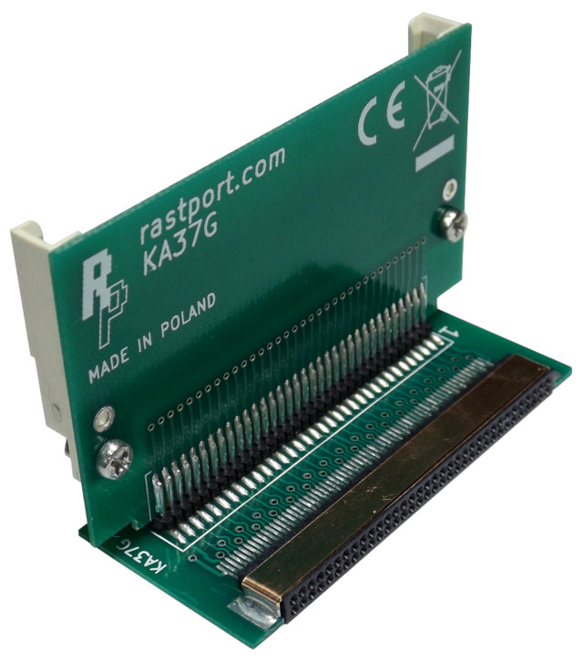 Angled PCMCIA connector 90°