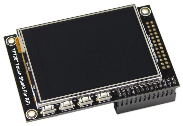 "2,8"" Touchscreen für Raspberry Pi Model B Rev.2"
