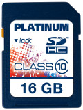 Platinum SDHC 16 GB