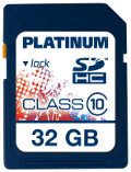 Platinum SDHC 32 GB