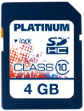 Platinum SDHC 4 GB