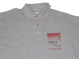 AmigaOS 4.0 Polo-Shirt