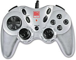 Encounter Gamepad silbern