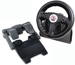 4in1 Power Feedback Racing Wheel