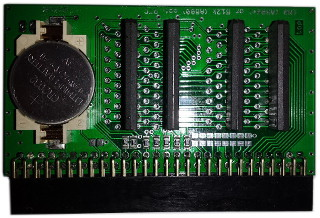 Memory Expansion 512K A500 with RTC