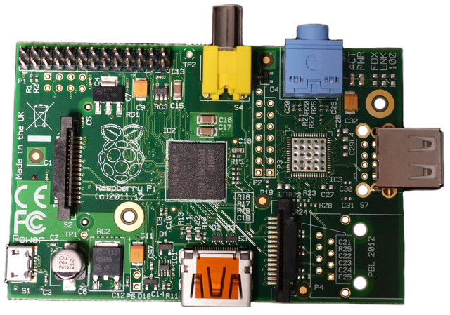 Raspberry Pi Model A (RS Components)