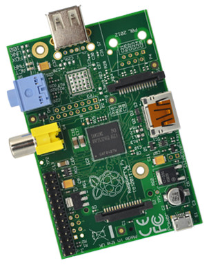 Raspberry Pi Model A (element14)