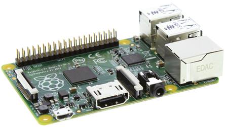 Raspberry Pi Model B+ (RS Components)