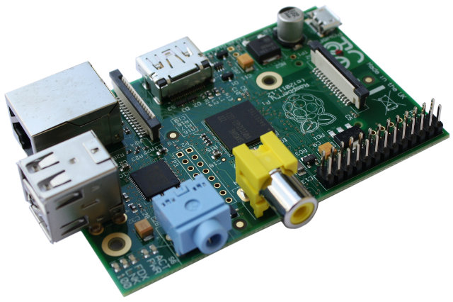 Raspberry Pi Model B Rev.2 (element14)