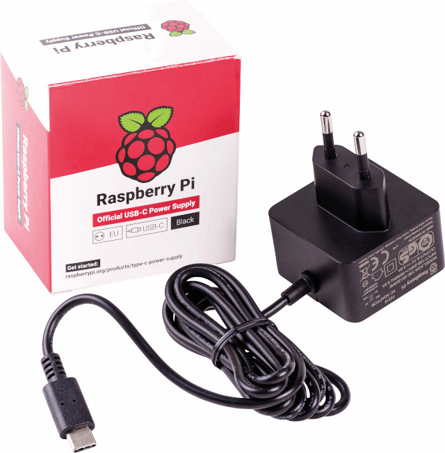 Official power supply for Raspberry Pi 4