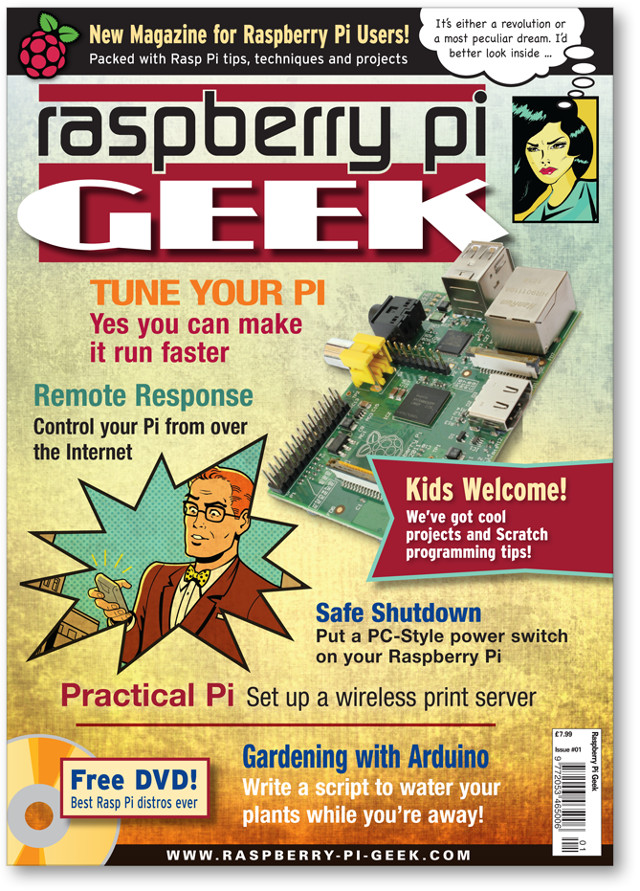 Raspberry Pi Geek (UK) #01