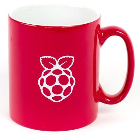 Raspberry Pi Kaffeebecher