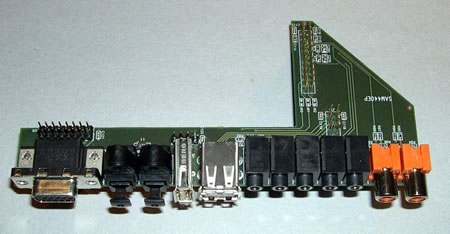 SAM440 I/O Expansion Board (Prototype)