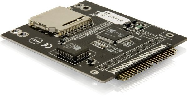 Converter IDE 44-pin m. to Secure Digital