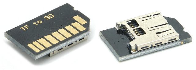 Adapter Low Profile TF/microSD auf SD
