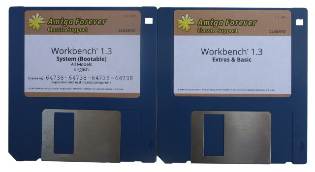 Vesalia Online - Workbench 1 3 Disk Set