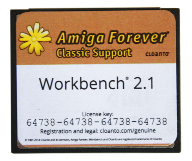 Workbench 2.1 Compact Flash Edition
