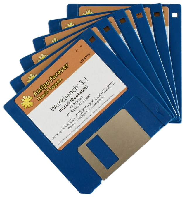 Workbench 3.1 Disk Set